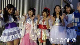 2015.8.9 東京おとめ太鼓 with SAYA in アイドル甲子園 インタビュー オ...