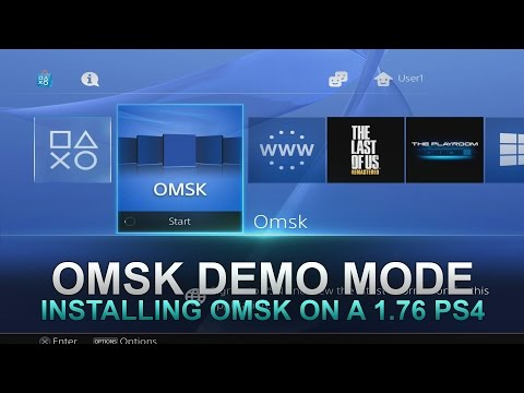 How to Install OMSK/Demo Mode on a PS4