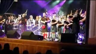 Highland Catherdral - Red Hot Chilli Pipers featuring Dumfries Pipe Band