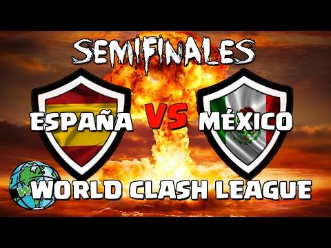 ESPAÑA vs MÉXICO | Semifinales | World Clash Royale League | #ClashRoyaleSE vs #MexicoWCL