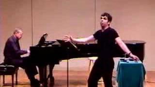 "Marc Acito sings ""Carried Away,"" Colorado College"