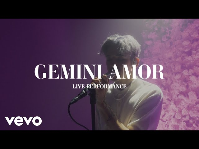 YOANDRI - GEMINI AMOR (LIVE PERFORMANCE)