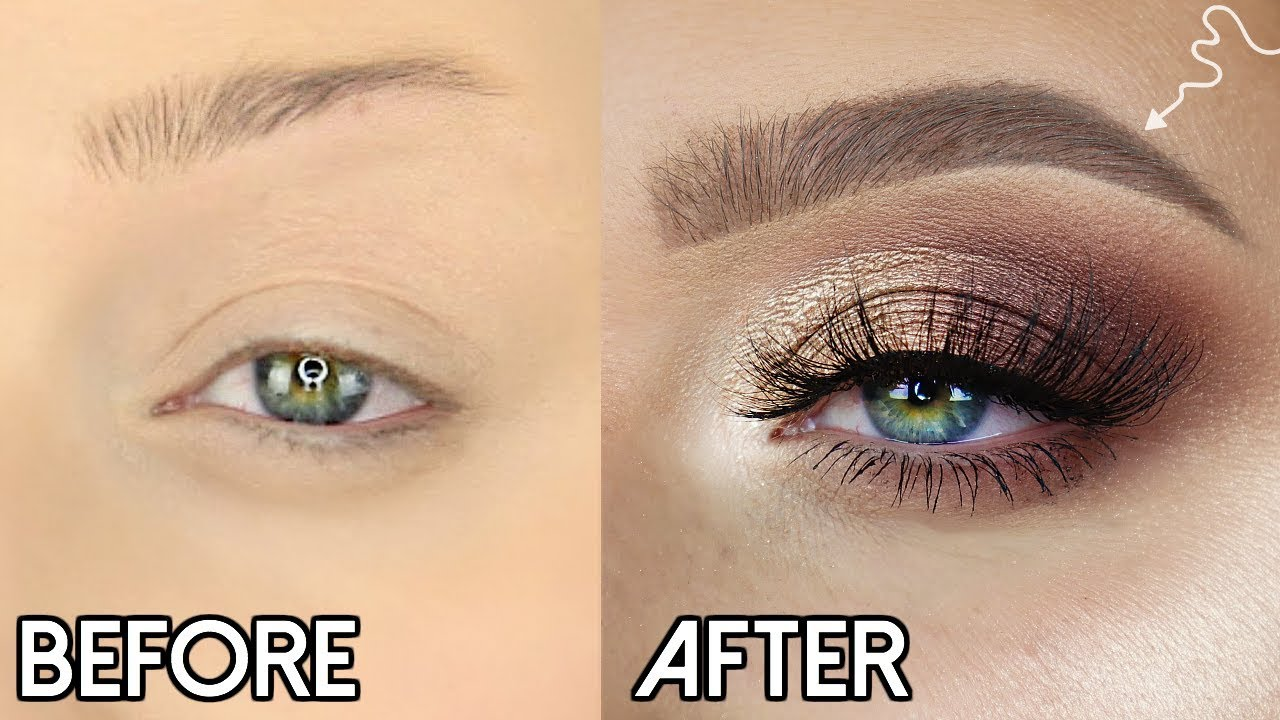 Easy Brow Tutorial How To Fill In Your Eyebrows Only 2 Products