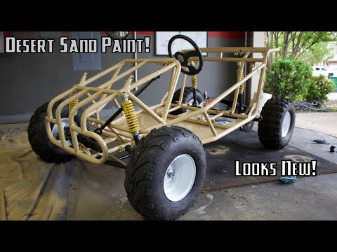 Offroad  Go Kart Finally Gets Paint!