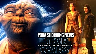 The Rise Of Skywalker Yoda Shocking News Revealed! (Star Wars Episode 9)