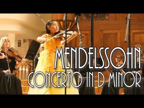 Mendelssohn Violin Concerto in D minor | Leia Zhu