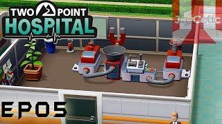 Two Point Hospital - EP05 - Lower Bullocks - Level 8 Hospital