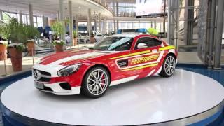 Mercedes-AMG GT S Feuerwehr Showcar