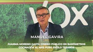 Juanma Moreno gasta el dinero de todos los andaluces el barómetros cocinados al estilo de Tezanos