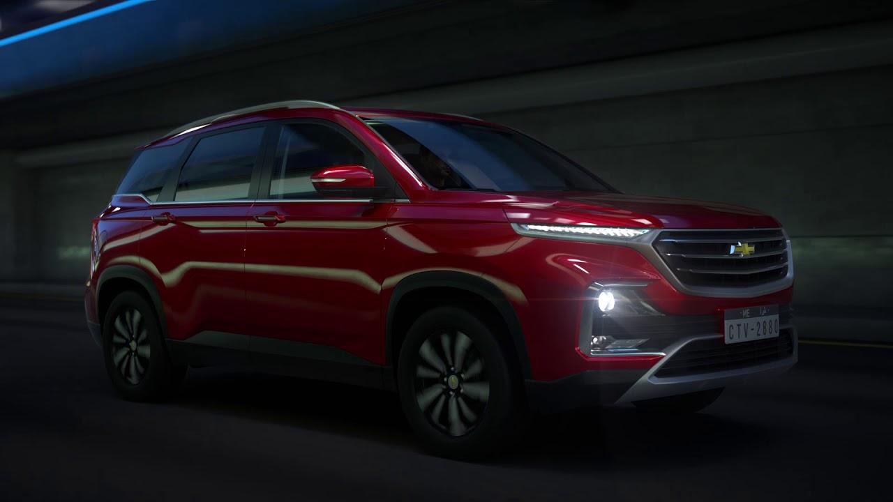 All-new 7-seater Chevrolet Captiva