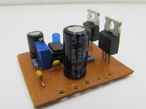 DIY Simple inverter from 12V to 220V
