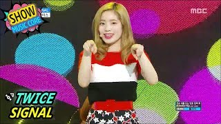 Gambar cover [HOT] TWICE - SIGNAL, 트와이스 - 시그널 Show Music core 20170603