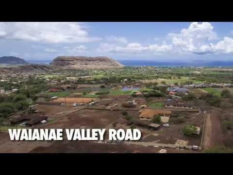 Waianae Valley Road - Waianae, Hawaii