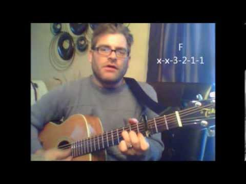 """How To Play """"Waterfalls"""" By TLC On Acoustic Guitar"""