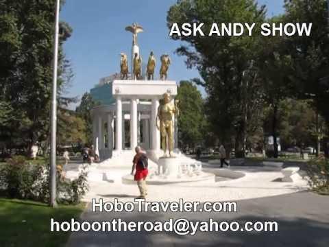 City of Statues Skopje Macedonia