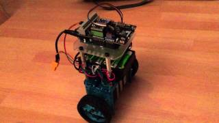 Self balancing robot first steps, with makeblock parts and stepper motors