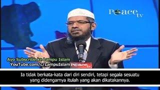 Dr. Zakir Naik Menghabisi Argumen Pelajar Kristen