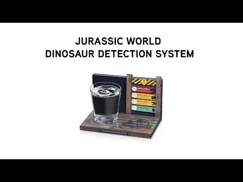 Jurassic World Dinosaur Detection System from ThinkGeek