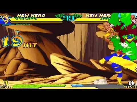MARVEL SUPER HEROES VS. STREET FIGHTER Combo  Video Vol.1