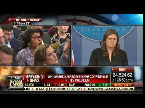 Ouch! Sarah Huckabee Sanders to April Ryan: Mind is in the Gutter