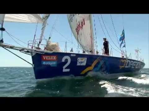VELUX 5 OCEANS RACE - Gutek and Derek finish