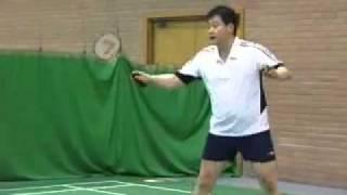 Badminton: Half Court Drive