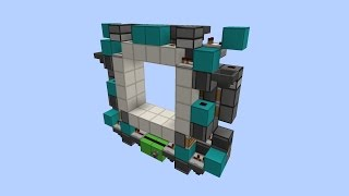 tiny and super sync 4x4 piston door for 1 11 tutorial 180 blocks