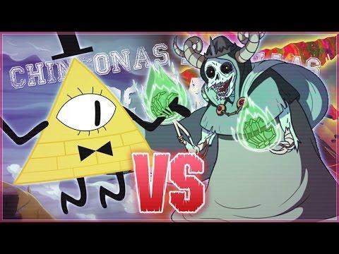 Bill Cipher vs El Lich. Chingonas Batallas de Rap de Titanes | Zoiket