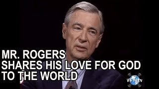 1572 Mr. Rogers sharing his LOVE for GOD to the world with his life...
