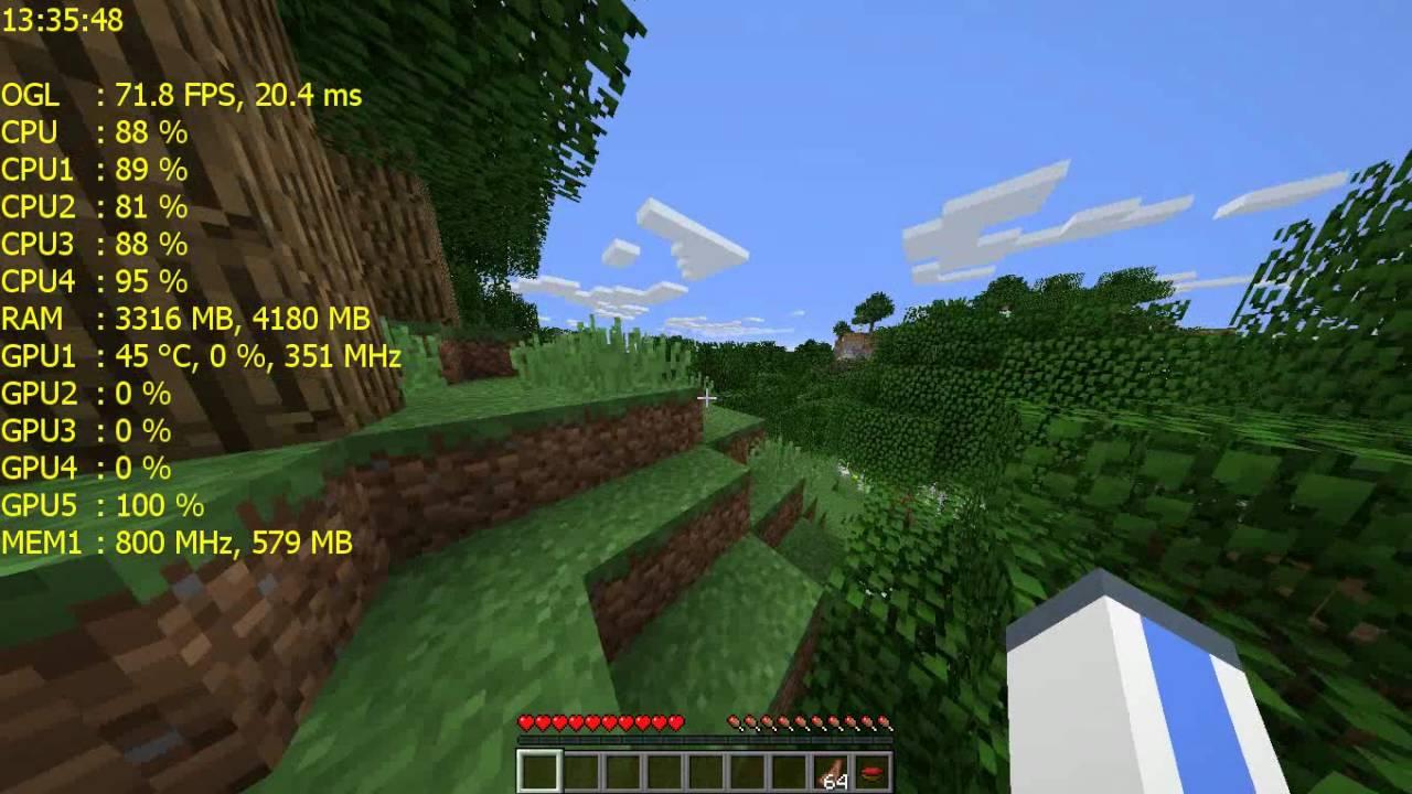 Minecraft Testi