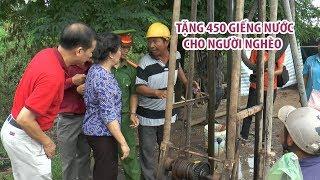 Tặng 450 giếng nước cho hộ nghèo ở Bạc Liêu, Sóc Trăng