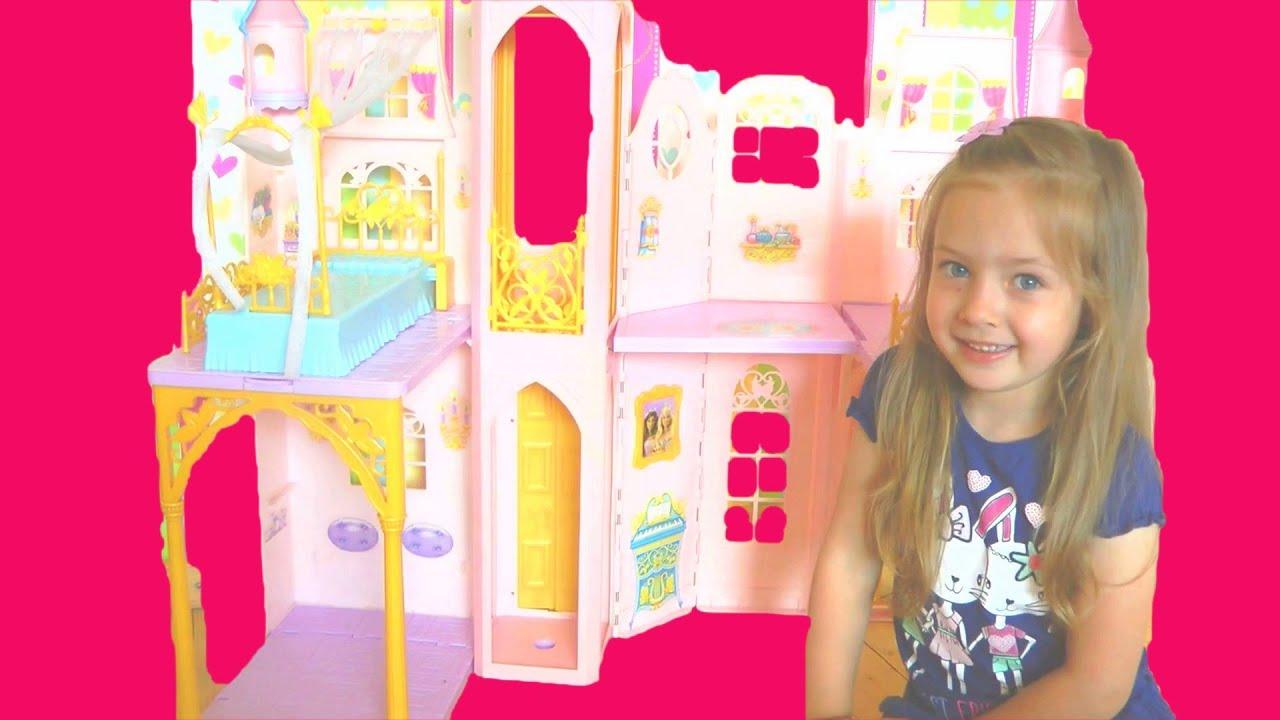 Большой замок куклы Барби. Дом мечты куклы Барби или ...