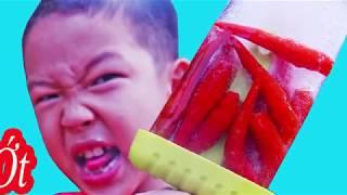 Spicy Ice Cream - Kem ớt bạn đã dám thử ?  Seri làm kem hoa quả siêu ngon.