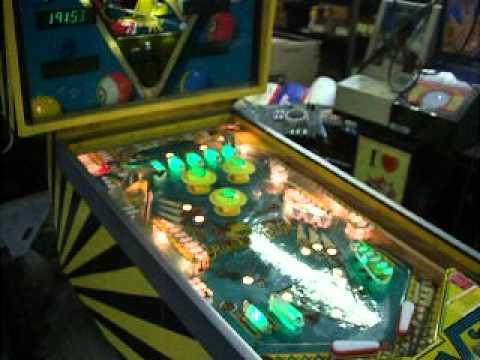 #53 Gottlieb RACK EM UP Pinball Machine - Pool Theme TNT Amusements