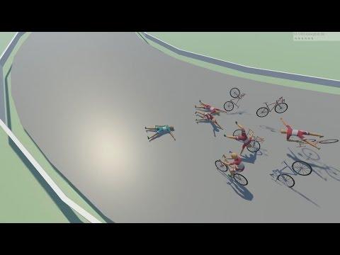 개노답 자전거 경주! - 바이크레쉬[다운링크 포함][웁tv]