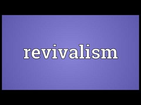 Header of revivalism