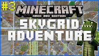 Minecraft Xbox 360 - Sky Grid Adventure - Cobblestone Generator Take Two! Episode 3