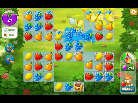 Garden Pets Puzzle Level 216 - No Boosters