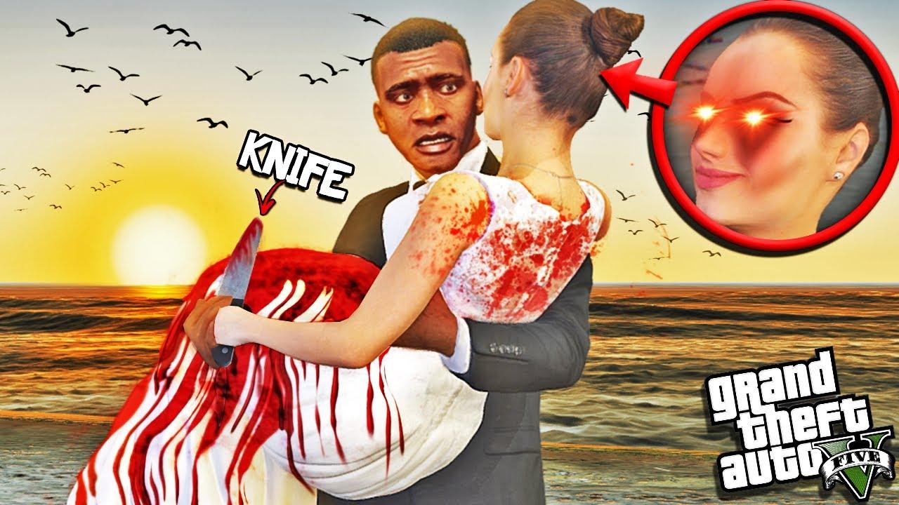 FRANKLINS WIFE The MURDERER Is BACK In GTA 5 (Insane)