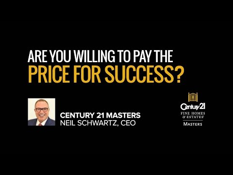 Real Estate Training - Are You Willing To Pay The Price For Success?