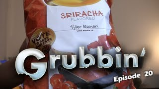 Lays Sriracha, Chicken & Waffle And Cheesy Garlic Bread Chips - Grubbin' With Cult Moo Ep20