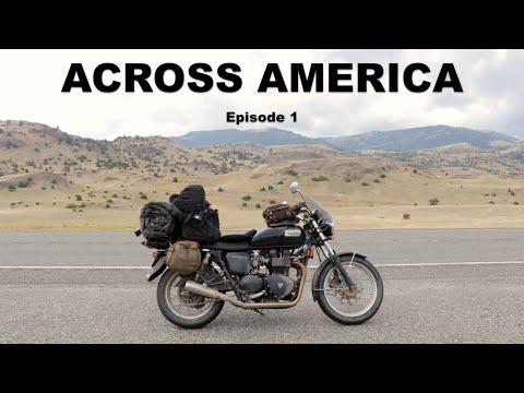 Motorcycling Across America (US) - EP1 - NY to WA