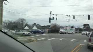 VA Beach Volunteer Rescue Squad Paramedic Unit 828 Responding Lights & Siren First Colonial Road