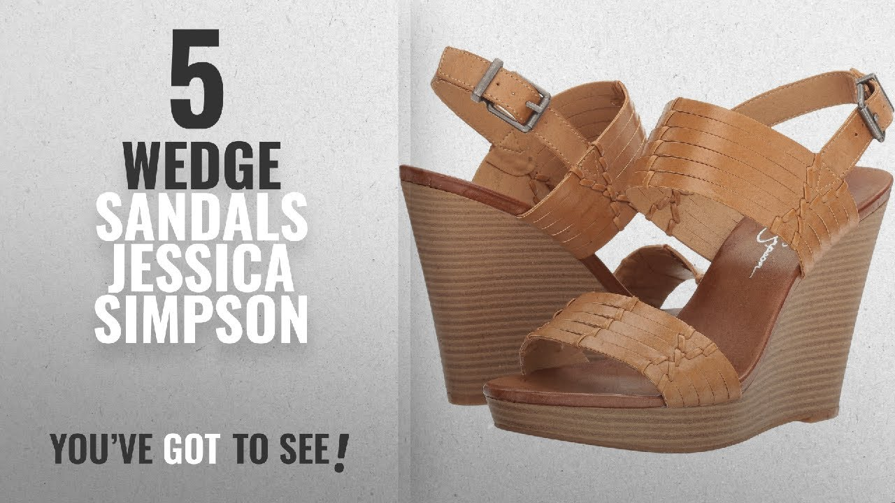 357fe08faea Top 5 Wedge Sandals Jessica Simpson  2018   Jessica Simpson Women s  Jayleesa Wedge Sandal