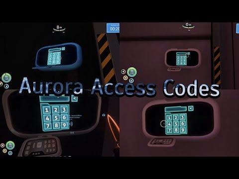 Subnautica - Aurora Access Codes