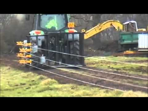 Quickfencer 4 Strand Barb Wire Attachment Youtube