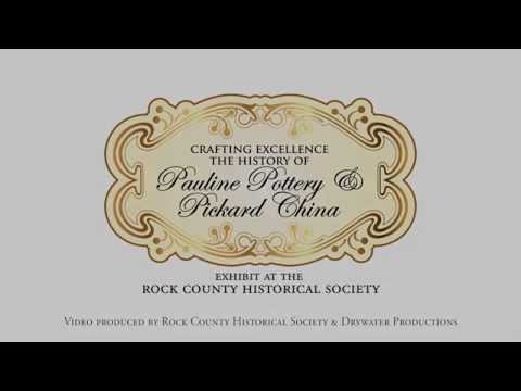 Pickard China Exhibit Web Commercial For The Rock County Historical Society
