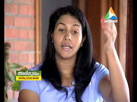 Interview With Anju Boby│Jaihind @ 26-7-2016