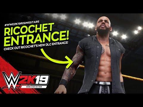 WWE 2K19: Ricochet Entrance (Rising Stars DLC) thumbnail
