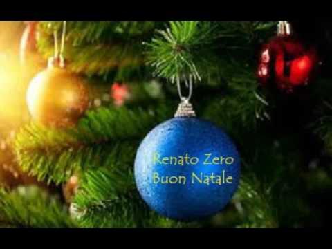 Buon Natale Renato Zero.Renato Zero Buon Natale Youtube